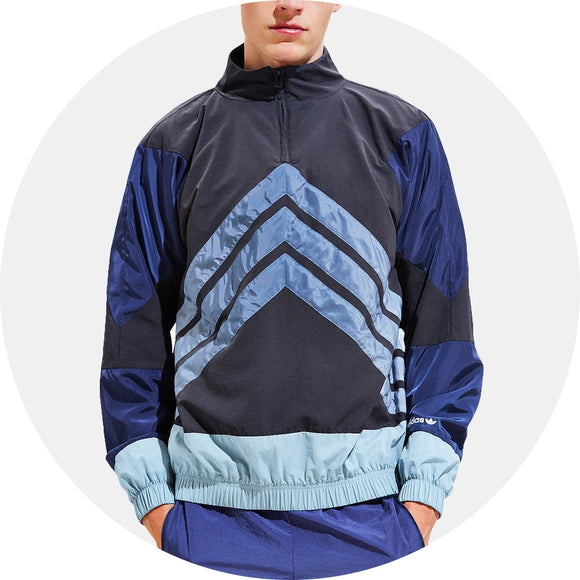 V Stripes Windbreaker