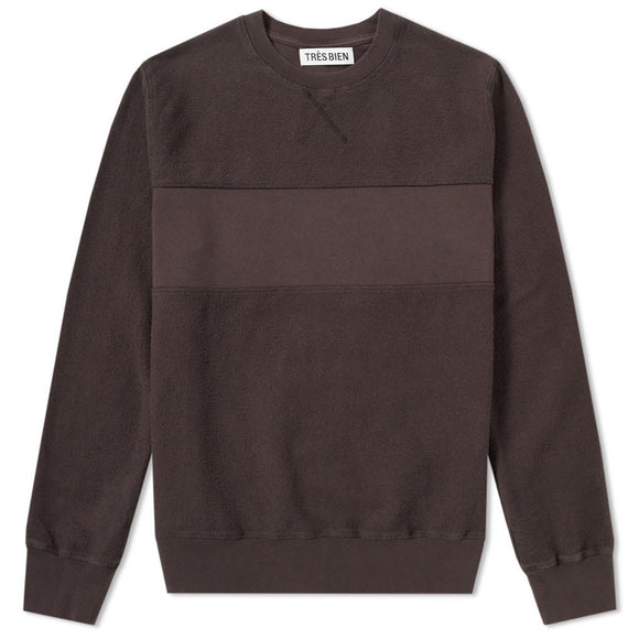 Panel Crewneck Sweatshirt