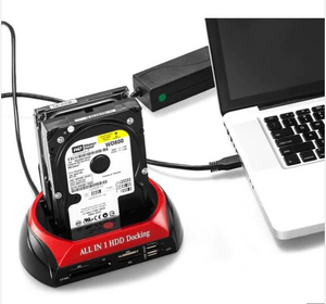 875 - J SATA + IDE Dual Slots All-in-one HDD Docking Station