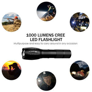 Water Resistant Ultimate Tactical Flashlight