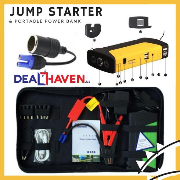 JUMP STARTER & PORTABLE POWER BANK