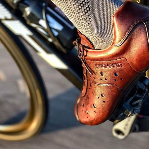 Leather Cycling Shoes | DROMARTI