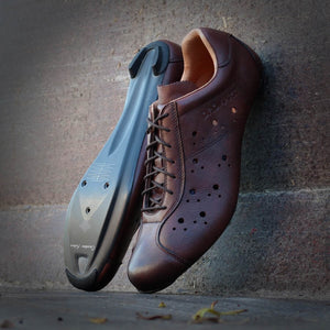 """/""""New/""""  VINTAGE CYCLING SHOES CHAUSSURES RETRO"""