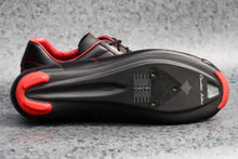 Load image into Gallery viewer, Race Carbon Nero Rosso - Black/Red Leather