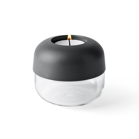 Norm Show Tealight Carbon Grey 2-pack by Norm Architects