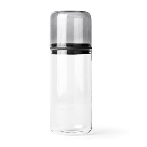Juuri Storage Glass Smoke Extra Large by Sarah Bottger