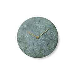Marble Wall Clock Green by Norm Architects