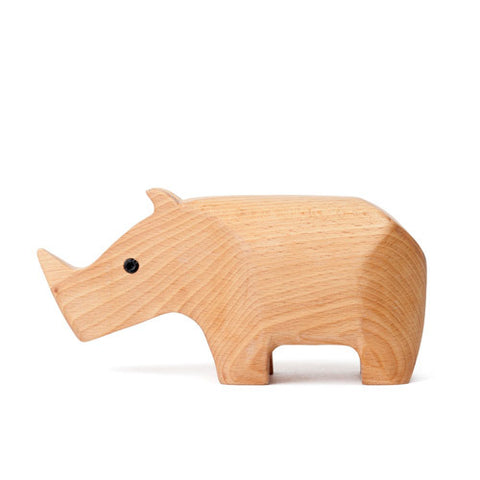 AREAWARE Animal Box - Rhino by Karl Zahn