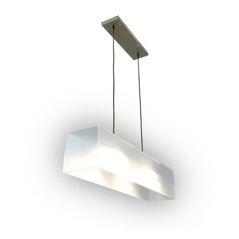 Frosted Hanging Lamp by Gus Modern