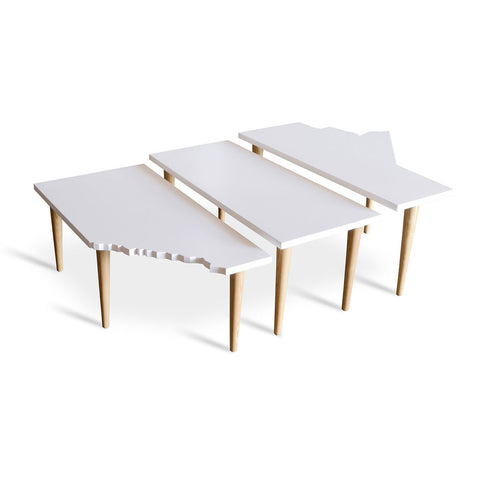 Prairie Nesting Tables by Gus Modern