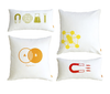 Set of 4 Graphic Pillows by Gus Modern