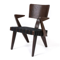 Spanner Lounge Chair with Arms by Gus Modern