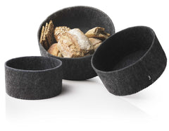 Menu Felt Bread Basket by Norm Architects