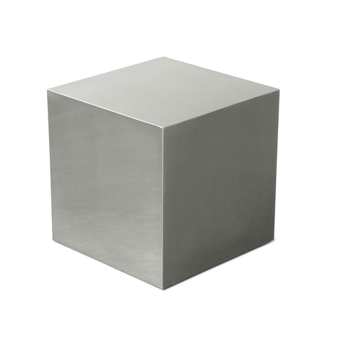 Stainless Steel Cube by Gus Modern