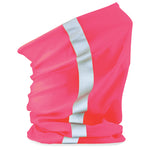 Reflective snood - FLAMING PINK - Flaming Pink