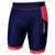 Women's Aquaflo+ Tri Shorts Navy/Coral - Zone3 - Flaming Pink