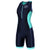 Zone3 Women's Aquaflo+ Trisuit Green - Zone3 - Flaming Pink