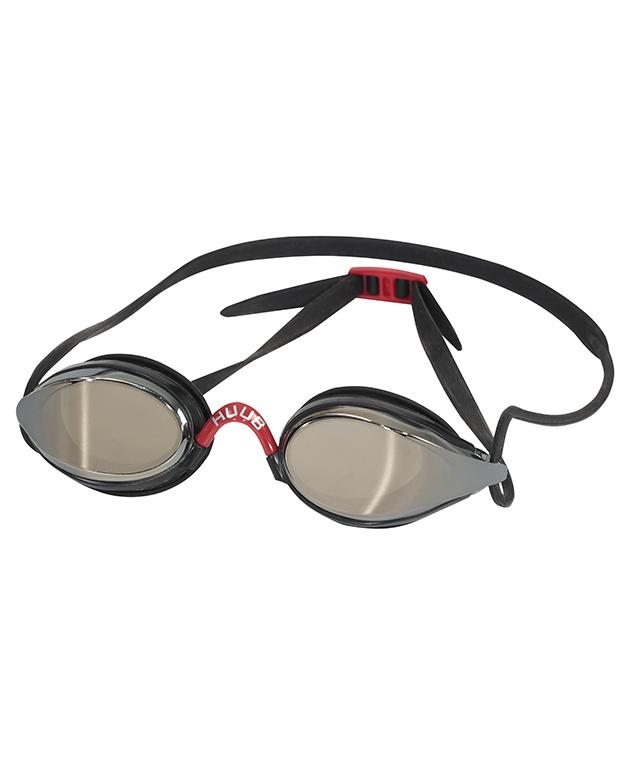 HUUB Brownlee Swim Goggle - Black/Light Smoke Mirror - HUUB - Flaming Pink