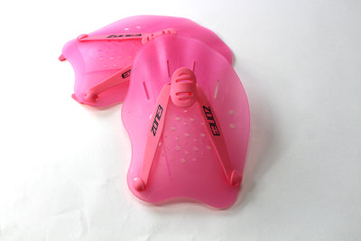 Zone 3 Ergo Swim Training Hand Paddles - Zone3 - Flaming Pink