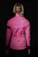 Stolen Goat Winter Cycling Jacket – Grid - Stolen Goat - Flaming Pink