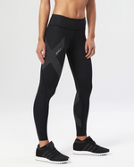 2XU Mid-Rise Compression Tight - 2XU - Flaming Pink