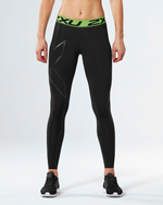 2XU Refresh Recovery Tights - 2XU - Flaming Pink