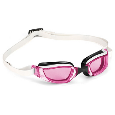 Michael Phelps XCEED Goggle - White/Pink - Michael Phelps - Flaming Pink