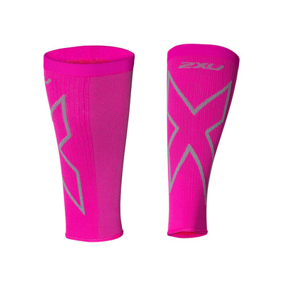 2XU Compression Calf Sleeves - 2XU - Flaming Pink