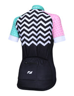 Zone3 Women's Coolmax Mesh Cycle Jersey - Zone3 - Flaming Pink