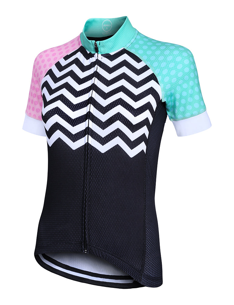 Zone3 Women s Coolmax Mesh Cycle Jersey 7c1dd3afd