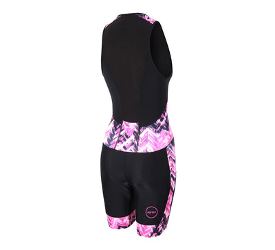 Zone3 Women's Activate Plus Trisuit - Zone3 - Flaming Pink