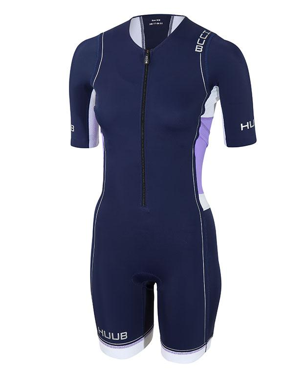 HUUB Long Course Triathlon Suit - HUUB - Flaming Pink