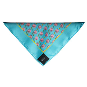 Piggies and Bolts Pocket Square