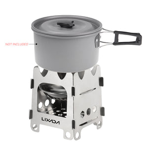 Folding Wood Stove For Outdoor Camping