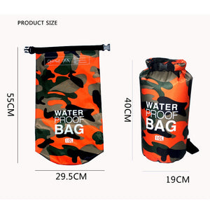 Outdoor Camouflage Portable Waterproof Storage Bag