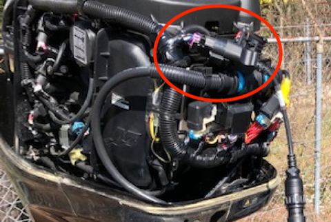 Mercury 60HP with Jaltest connection