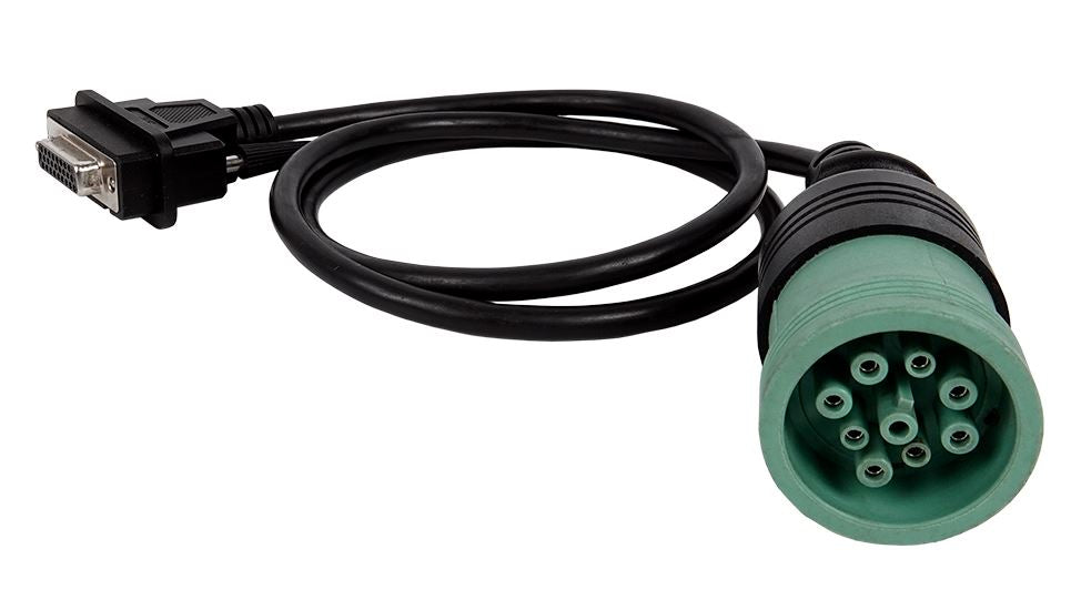 Jaltest Marine (JDC 217.9)-Deutsch 9-Pin Type 2 Green Diagnostic Cable