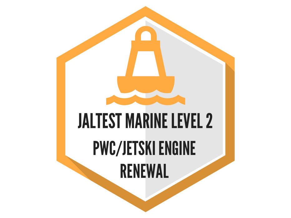 Jaltest Marine PWC Software Renewal - Level 2 (Standard)