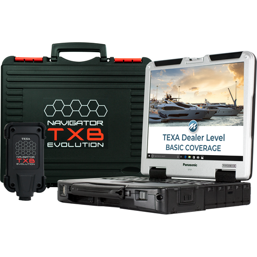 TEXA Dealer Level Marine Diagnostic Tool Basic Coverage