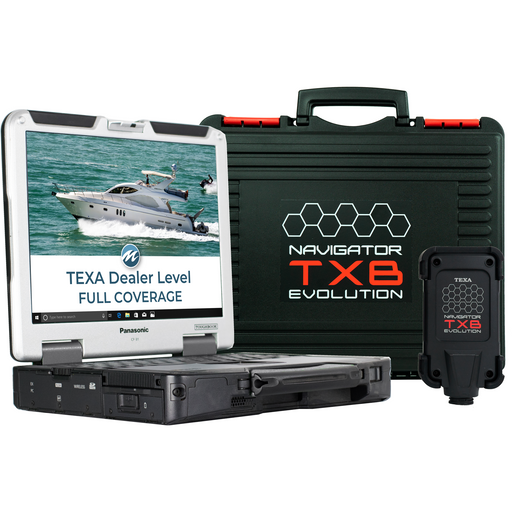 Used TEXA Dealer Level Marine Diagnostic Tool Full Coverage