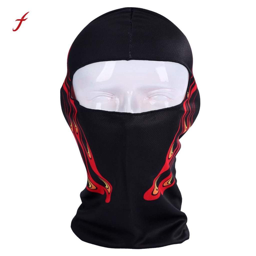 a8ad610cb69 Thin 3D Outdoor Motorcycle Face Mask Men s Outdoor Cycling Ski Balaclava  Neck Hood Full Face Mask