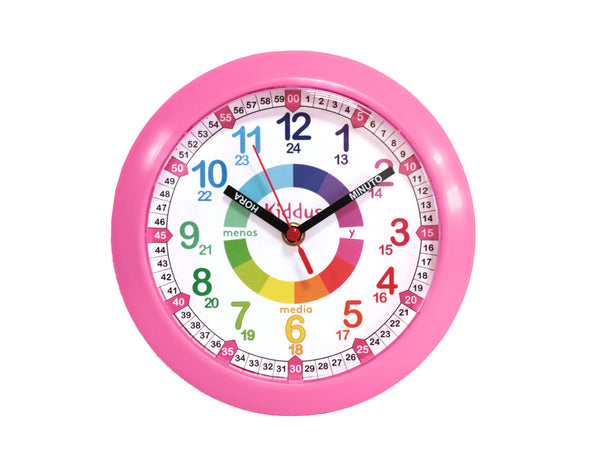Educational wall clock