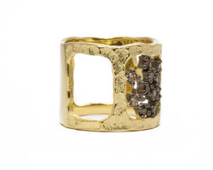 Girls' Ring | Atacama Canyon right view | Kukka Jewelry