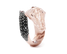 Caiman Lunge back view | Women's Ring | Kukka Jewelry