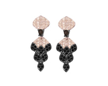 Caiman Nocturne front view | Ladies' Earrings | Kukka Jewelry