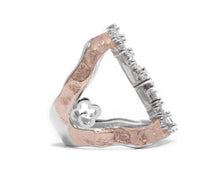 Women's Ring | Rose Moon High Impact right view | Kukka Jewelry
