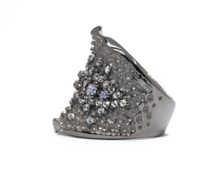 Pacific Royale left view | Women's Ring | Kukka Jewelry