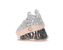 Woods Scenic | Rose Gold Plated Ring for Girls | Kukka Jewelry