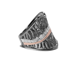 Woods Eternal right view | Women's Ring | Kukka Jewelry