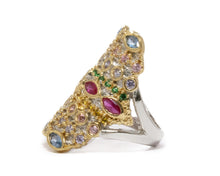 Thai Splash Majesty left view | Girls' Ring | Kukka Jewelry
